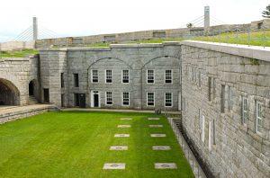 Innenhof von Fort Knox